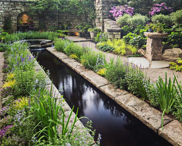 Award Winning Garden Landscape, Mansion in May, Cording Landscape Design