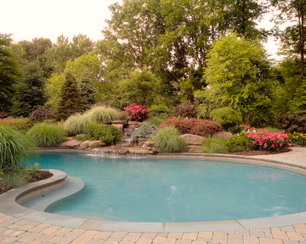 Landscaping in Basking Ridge New Jersey by Cording Landscape Design