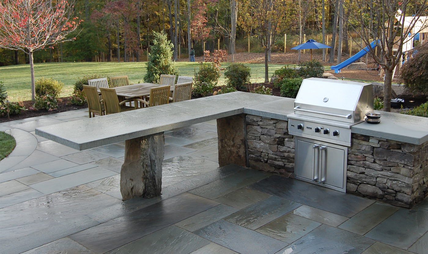 Patio Kitchen Outdoor Kitchens Cording Landscape Design
