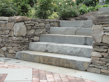 Bluestone Steps - Stone Landscaping
