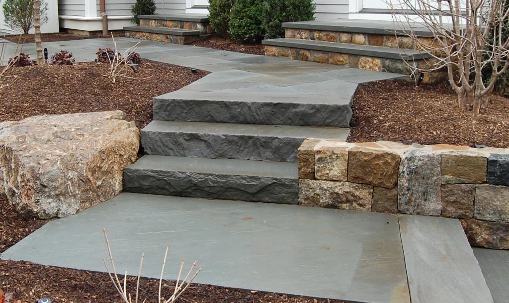 Bluestone Steps Cording Landscape Design
