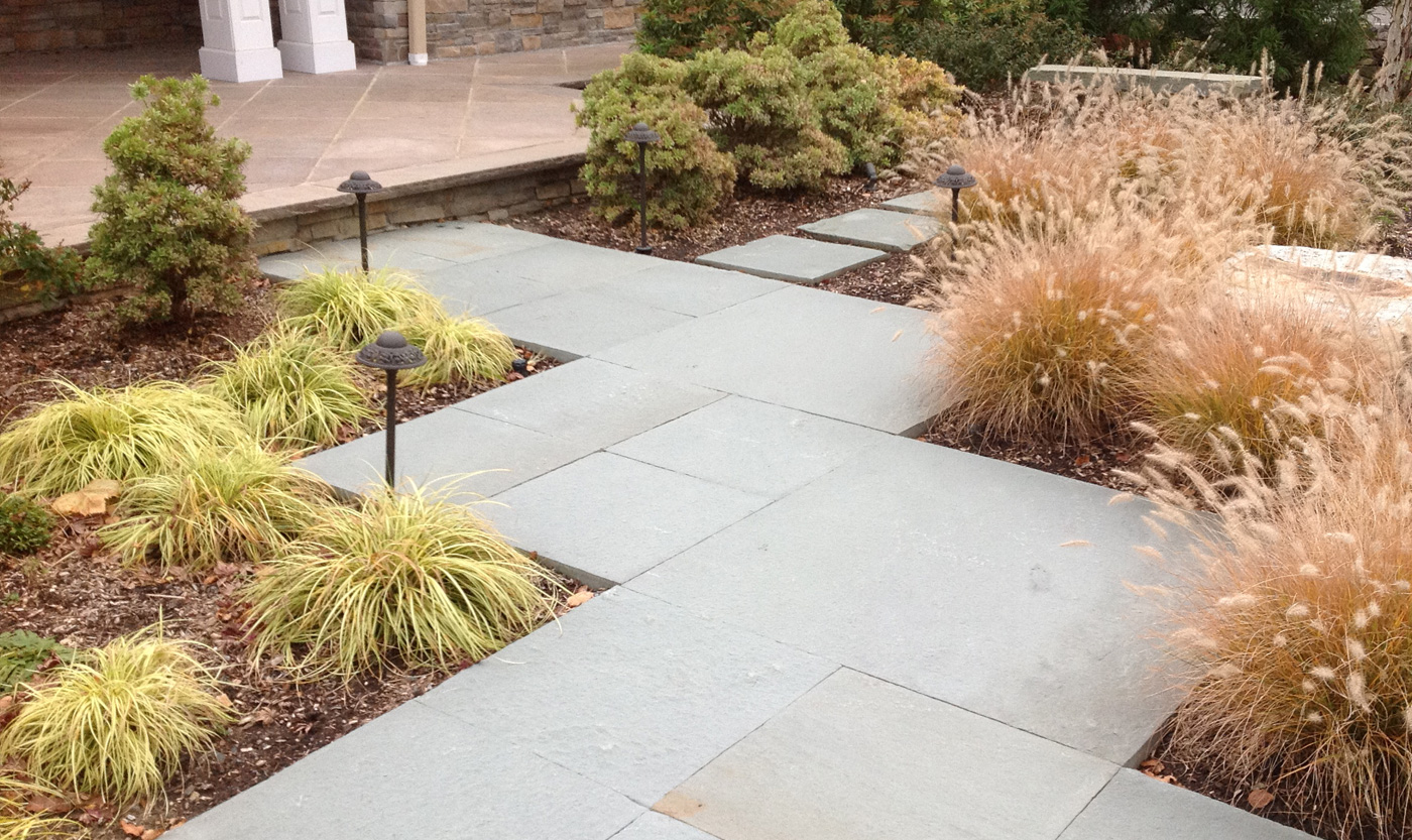 Bluestone Walkway by Cording Landscape Design