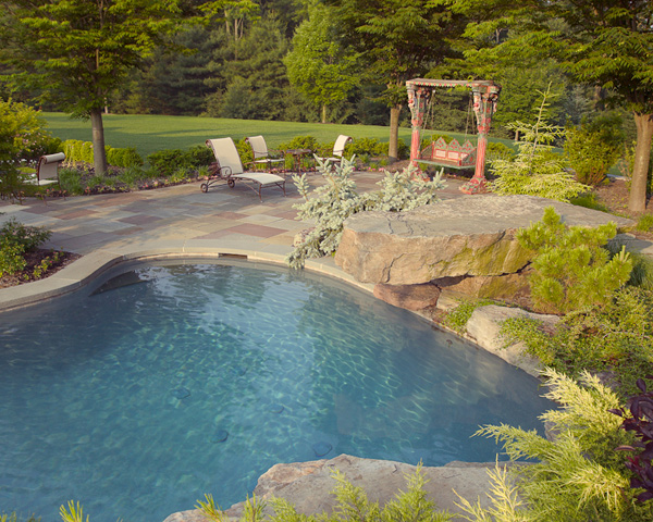 Harding Township Landscaping Pool by Cording Landscape Design