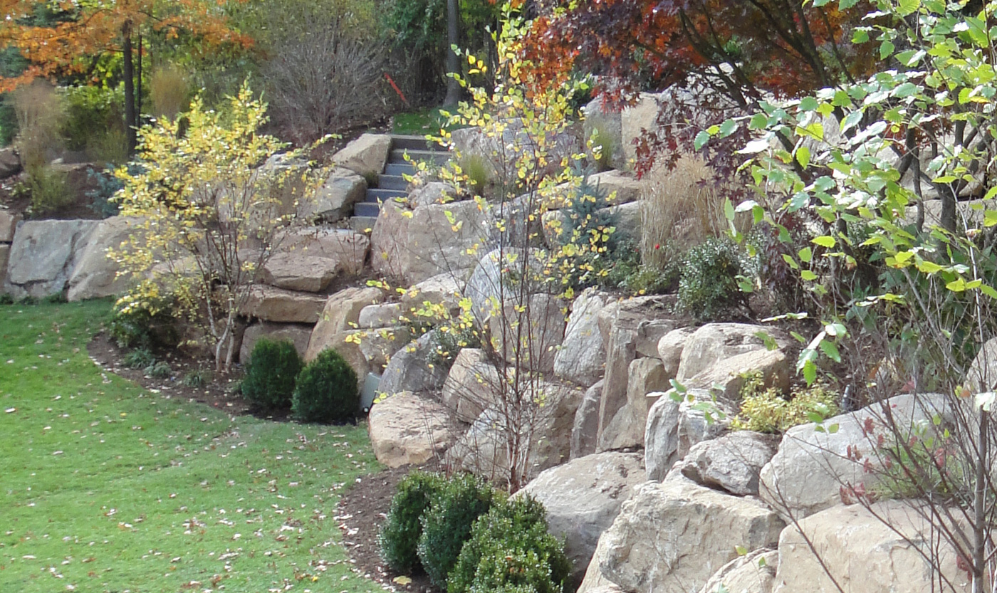 Rock gardens cording landscape design for Landscape my garden