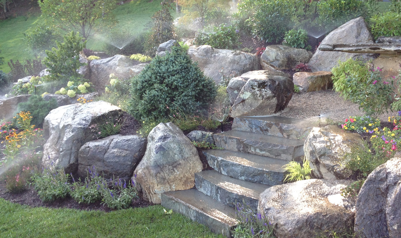rock garden ideas stone photograph decorative garden stone