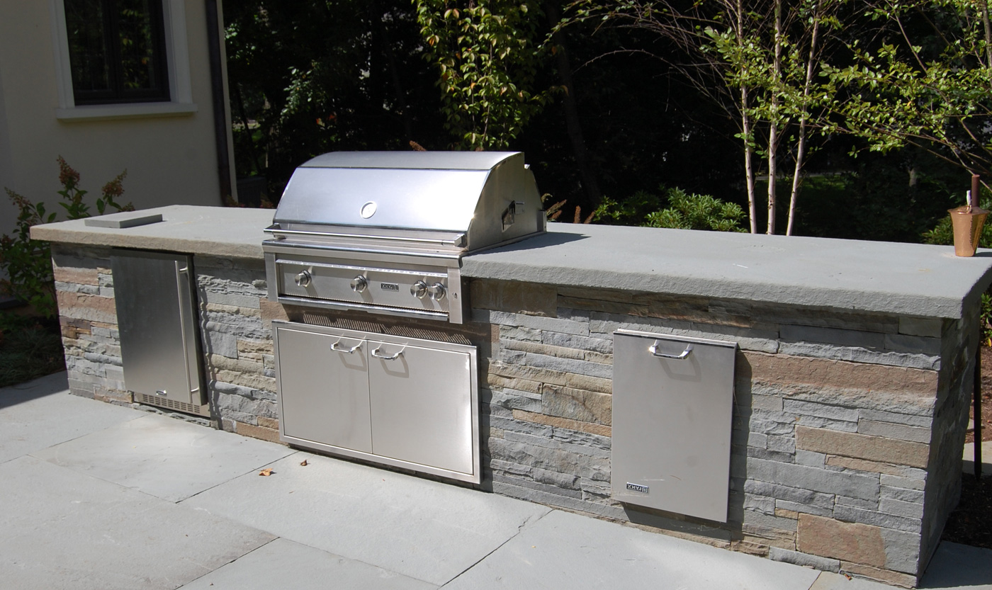patio bbq designs backyard bbq areas outdoor bbq kitchen islands spice up backyard designs and dining - Patio Bbq Designs