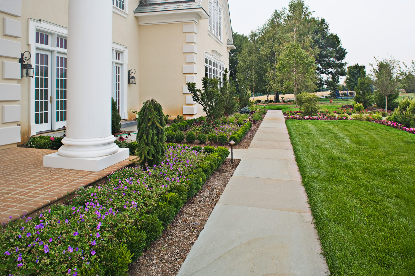 Formal Garden by Cording Landscape Design