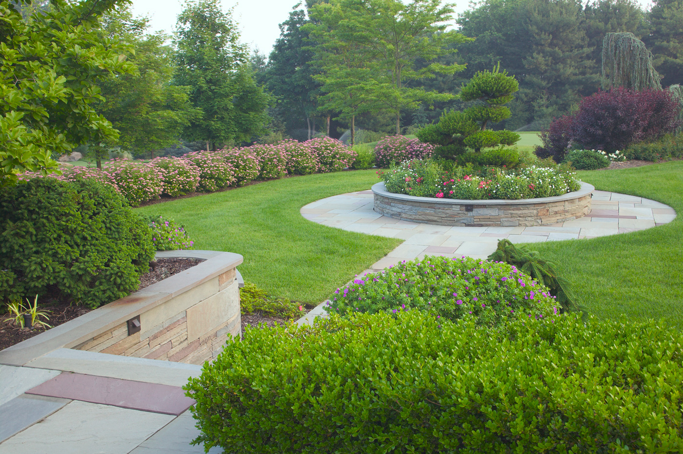 Magnificent formal garden design garden design 17 for Formal landscape design
