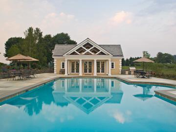 Formal Swimming Pool - NJ Landscaping