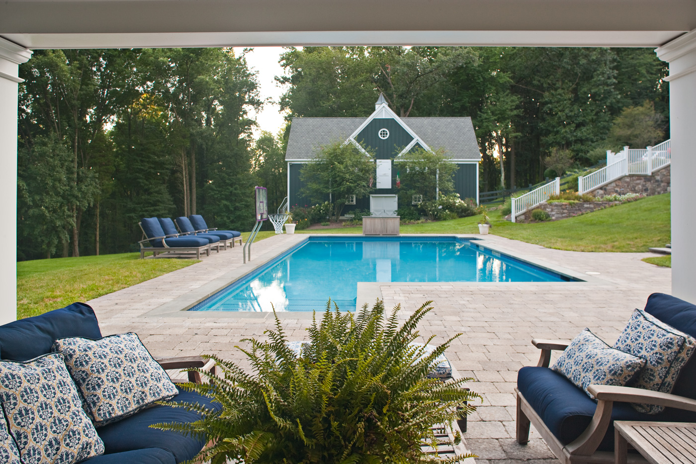 Formal Swimming Pool - New Jersey Landscaping