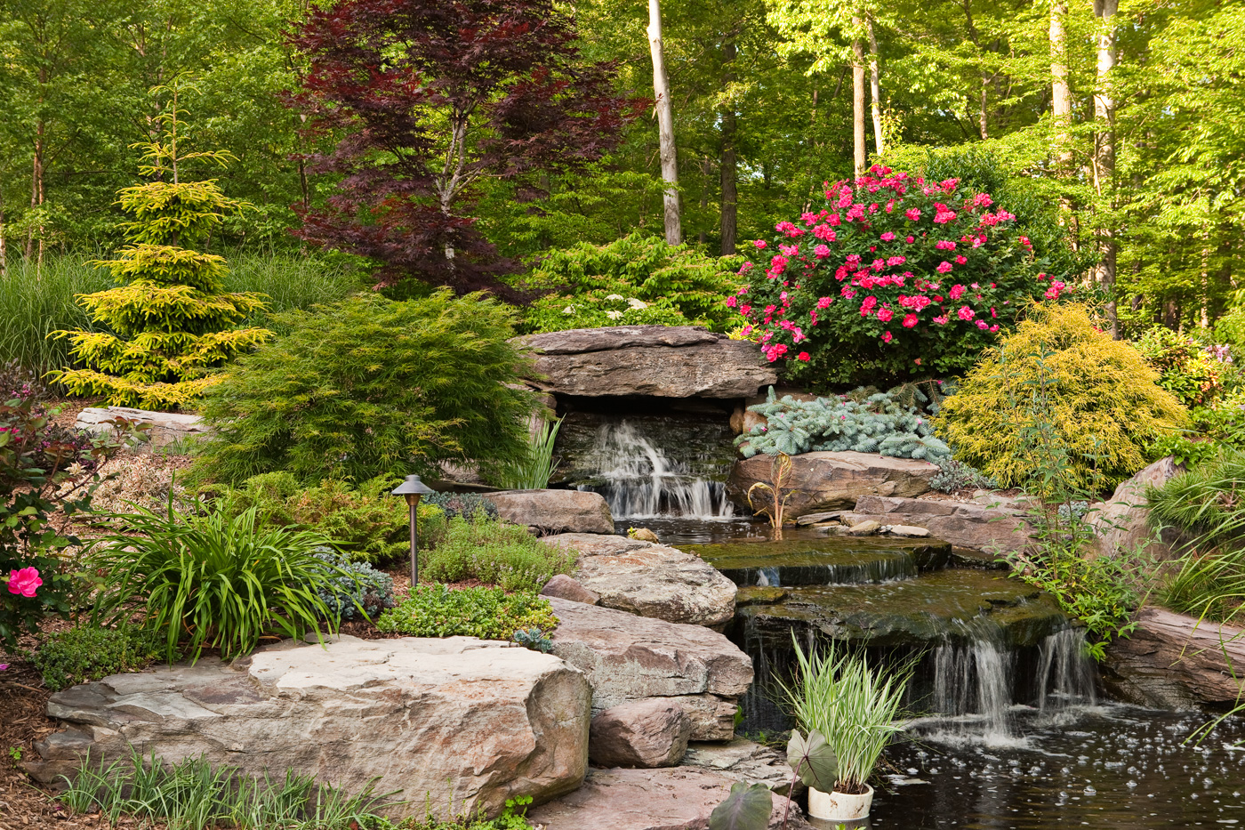Fountain by Cording Landscape Design