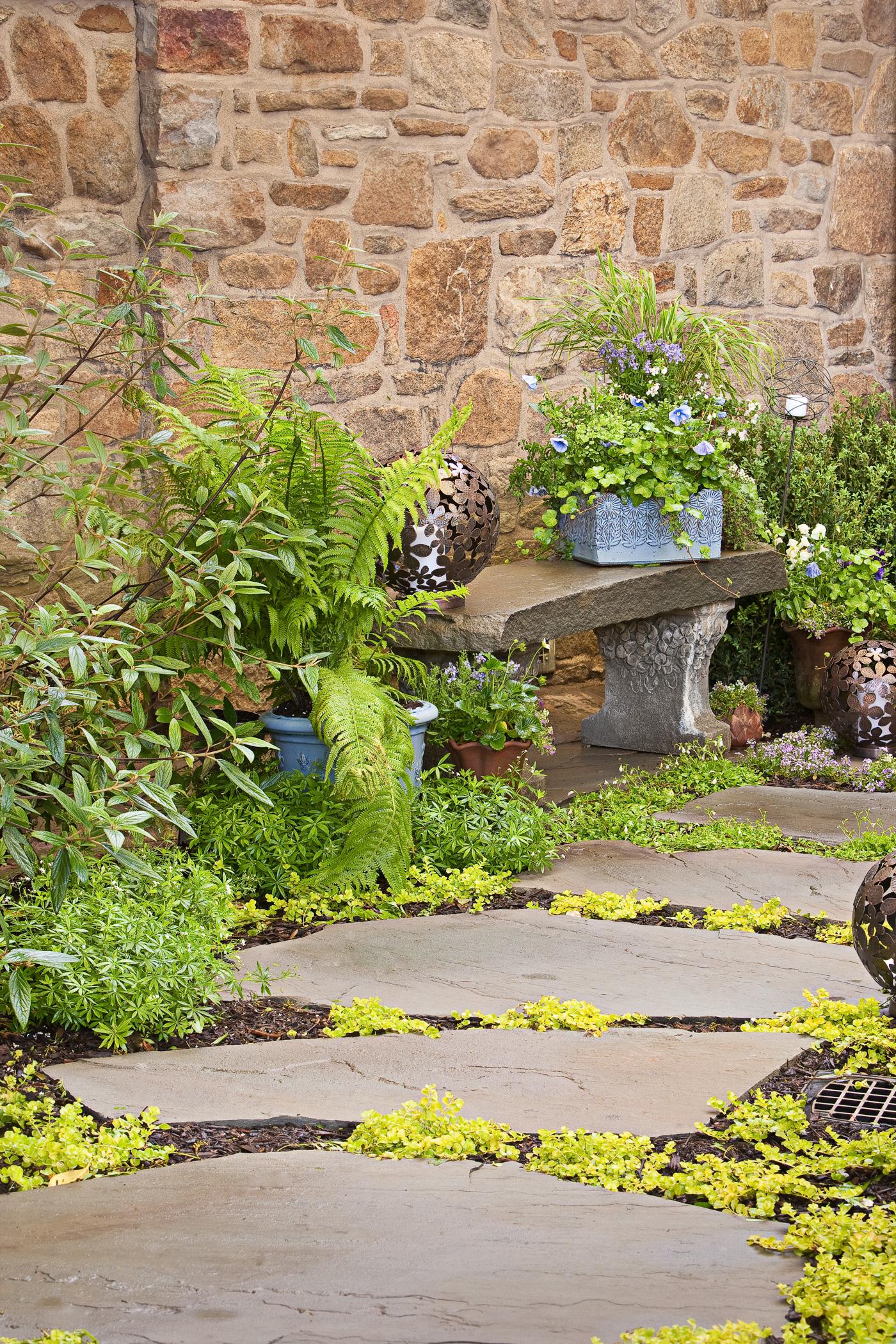 Garden Path by Cording Landscape Design