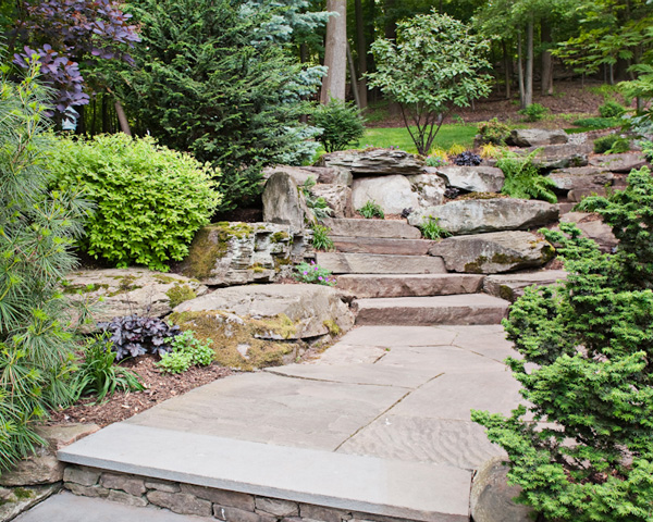 Landscaping in Montclair New Jersey by Cording Landscape Design