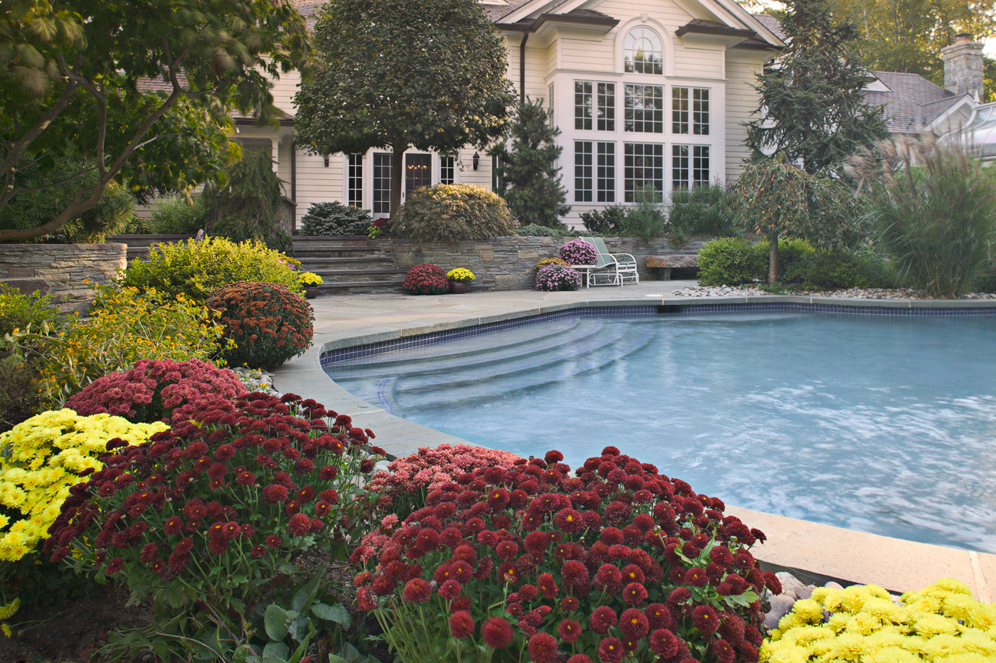 Beautiful natural swimming pools in new jersey for Natural landscape design
