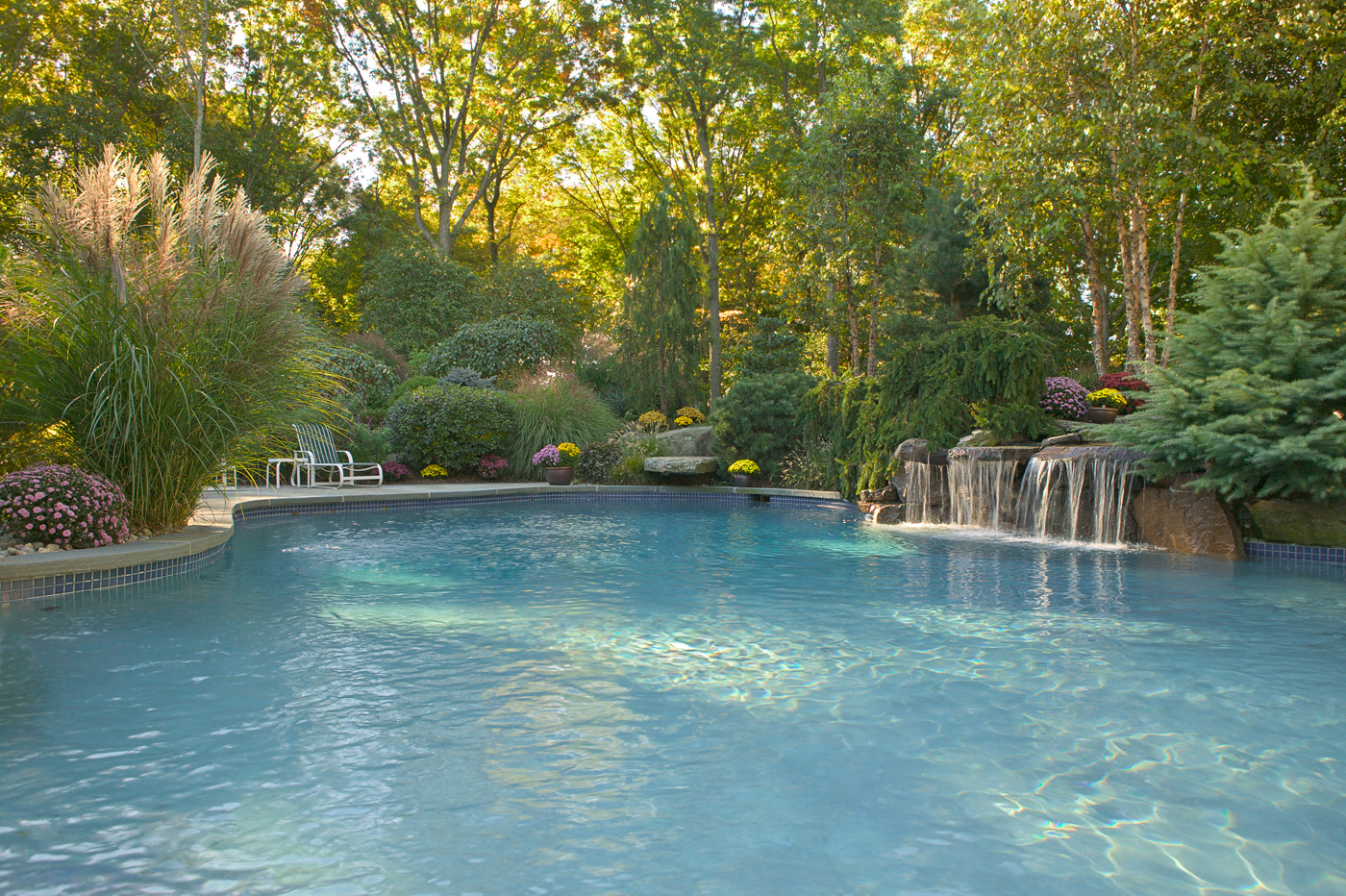 Beautiful natural swimming pools in new jersey for Pool design new jersey