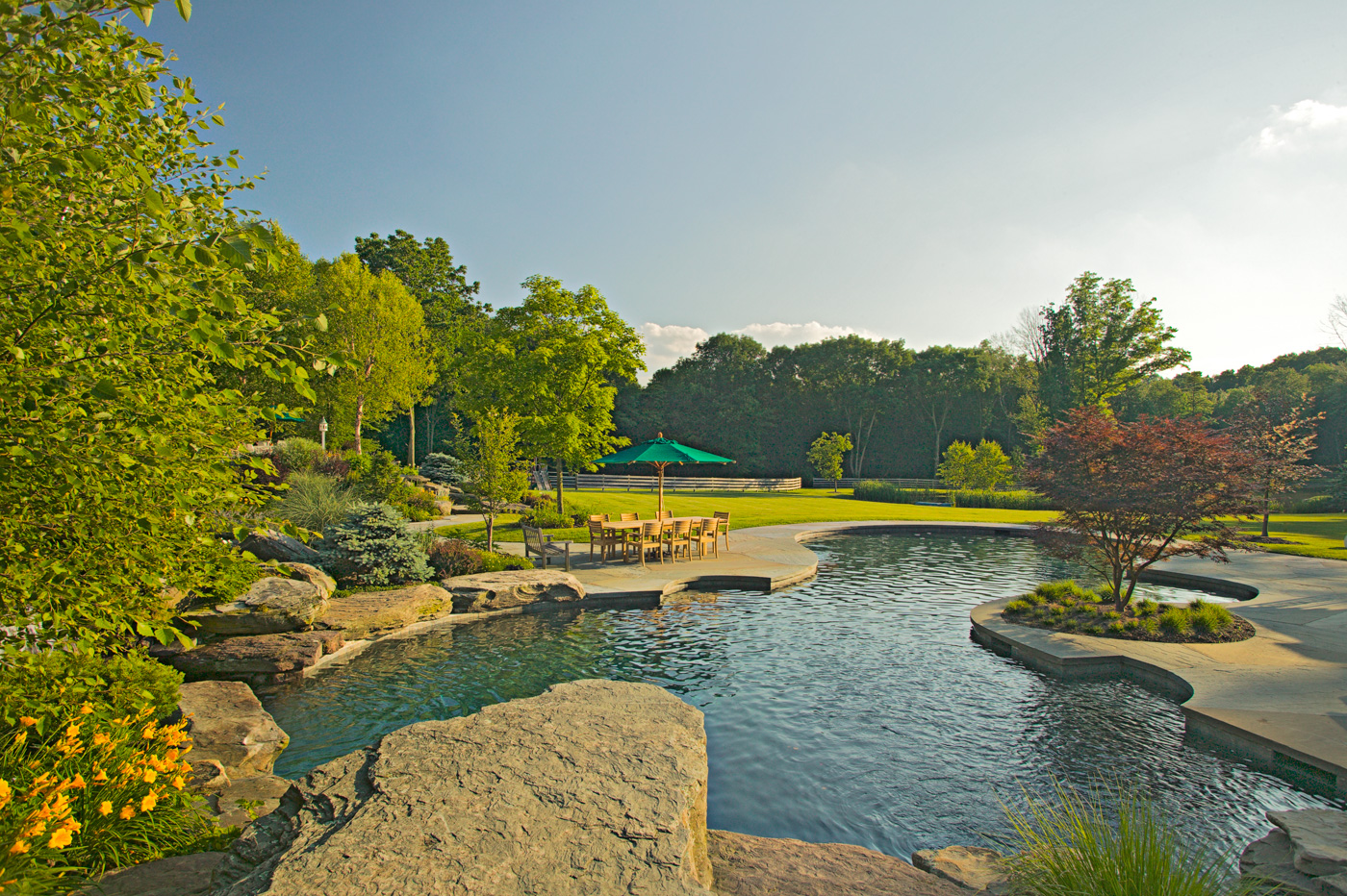 Beautiful Natural Swimming Pools in New Jersey