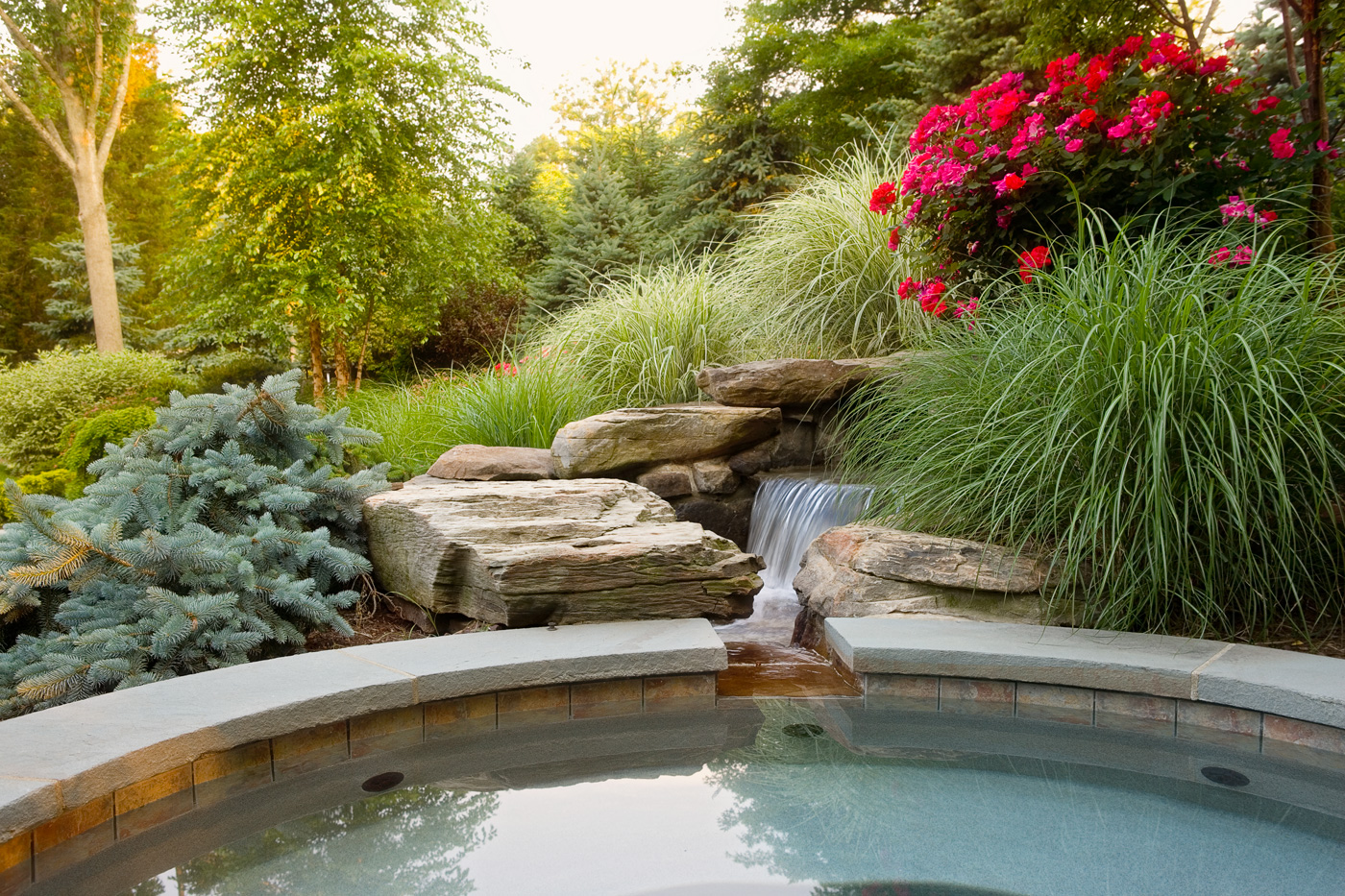 Spas cording landscape design for Gardening and landscaping