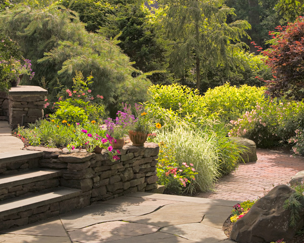 Landscaping in Summit New Jersey by Cording Landscape Design