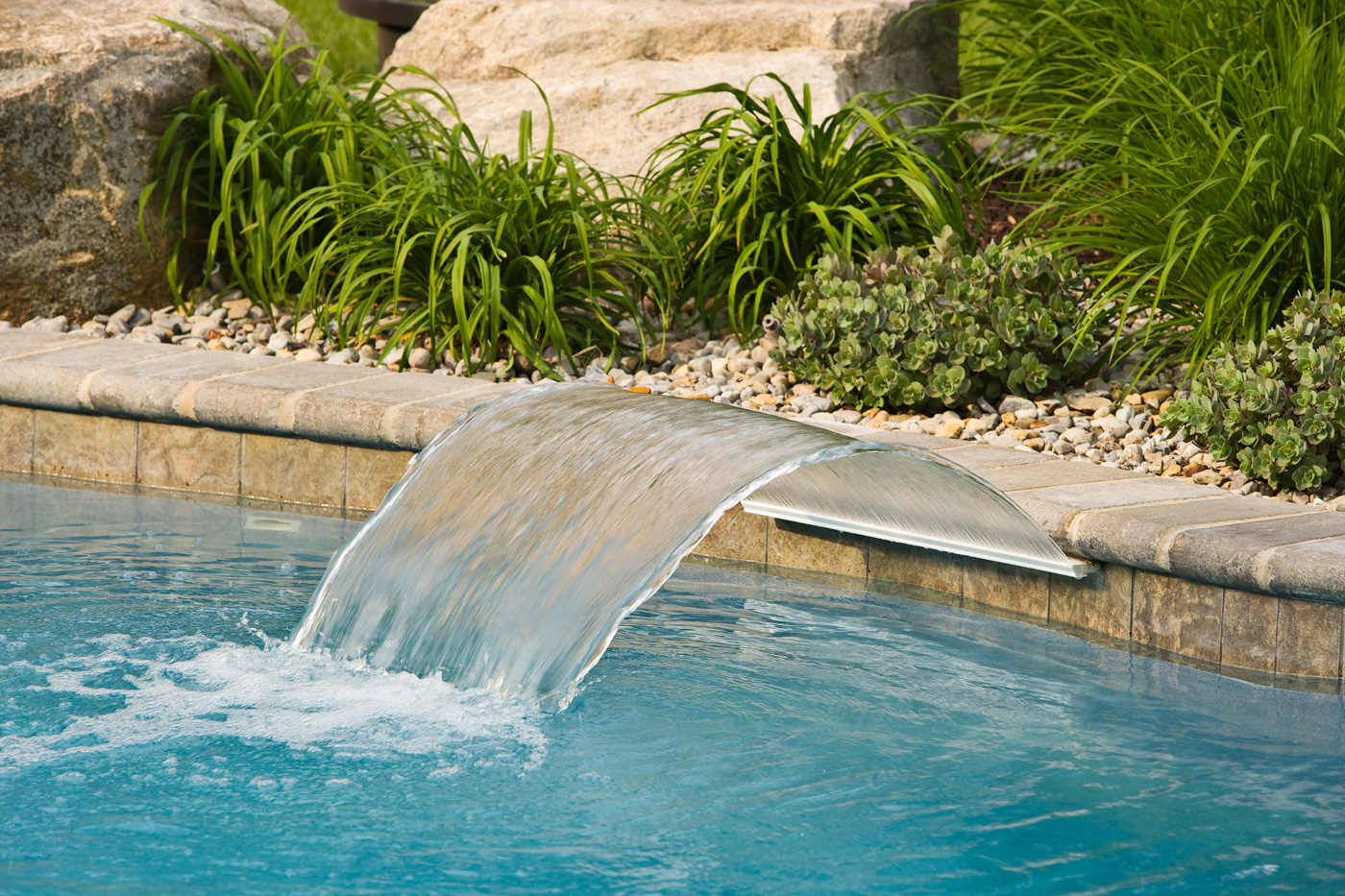 Swimming Pool Features - Cording Landscape Design