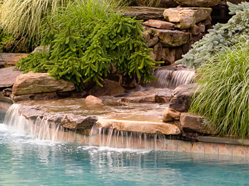 Waterfall - Landscaping