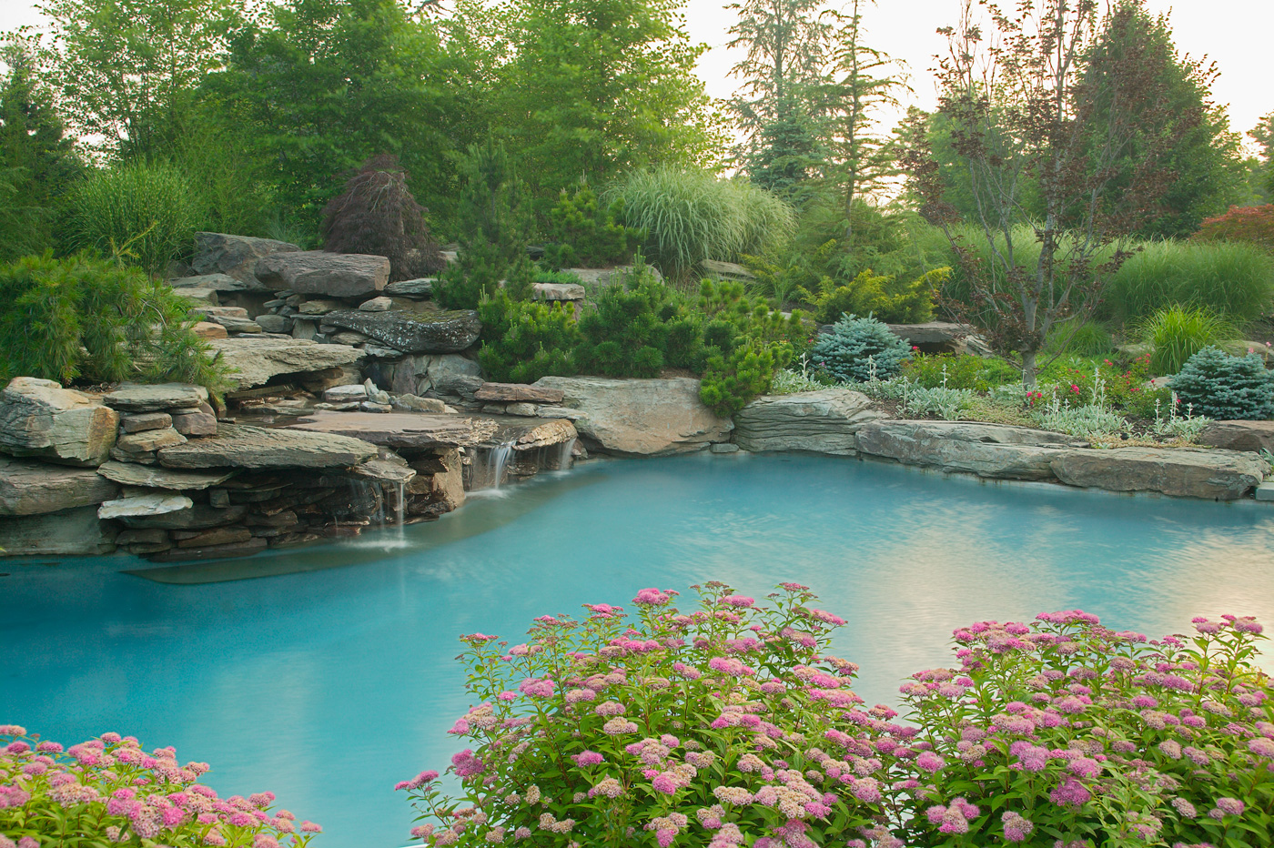 Waterfall by Cording Landscape Design