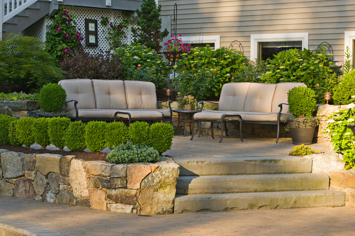 Bluestone Steps by Cording Landscape Design