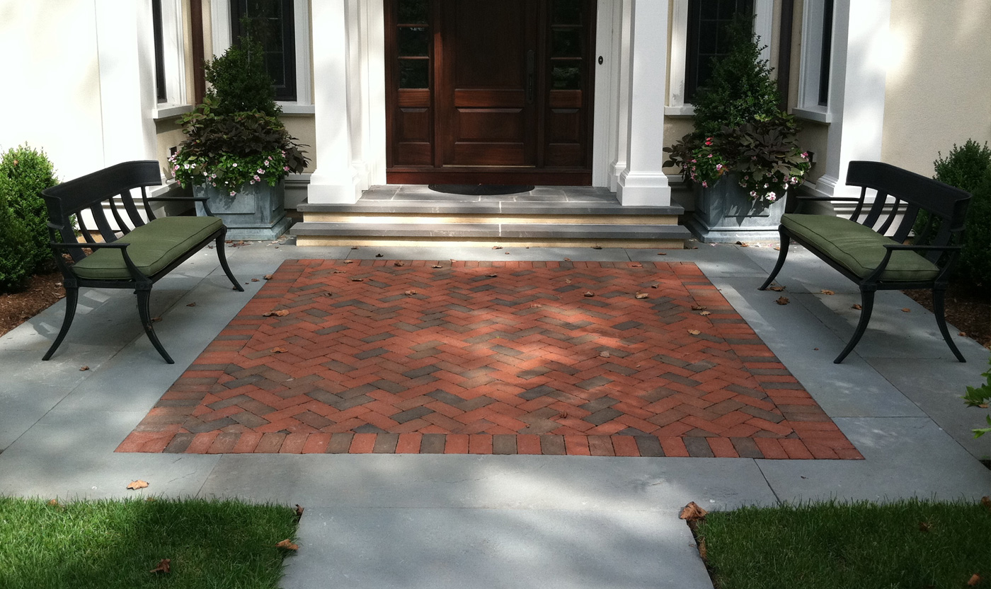 Brick Patio by Cording Landscape Design