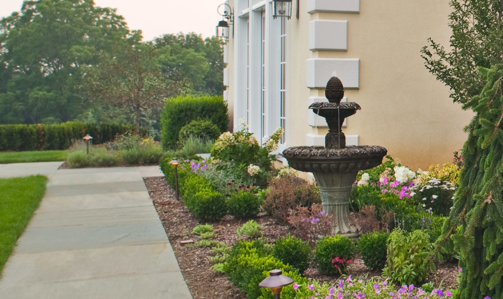 Landscaping With Fountains : New jersey landscaping garden fountain g