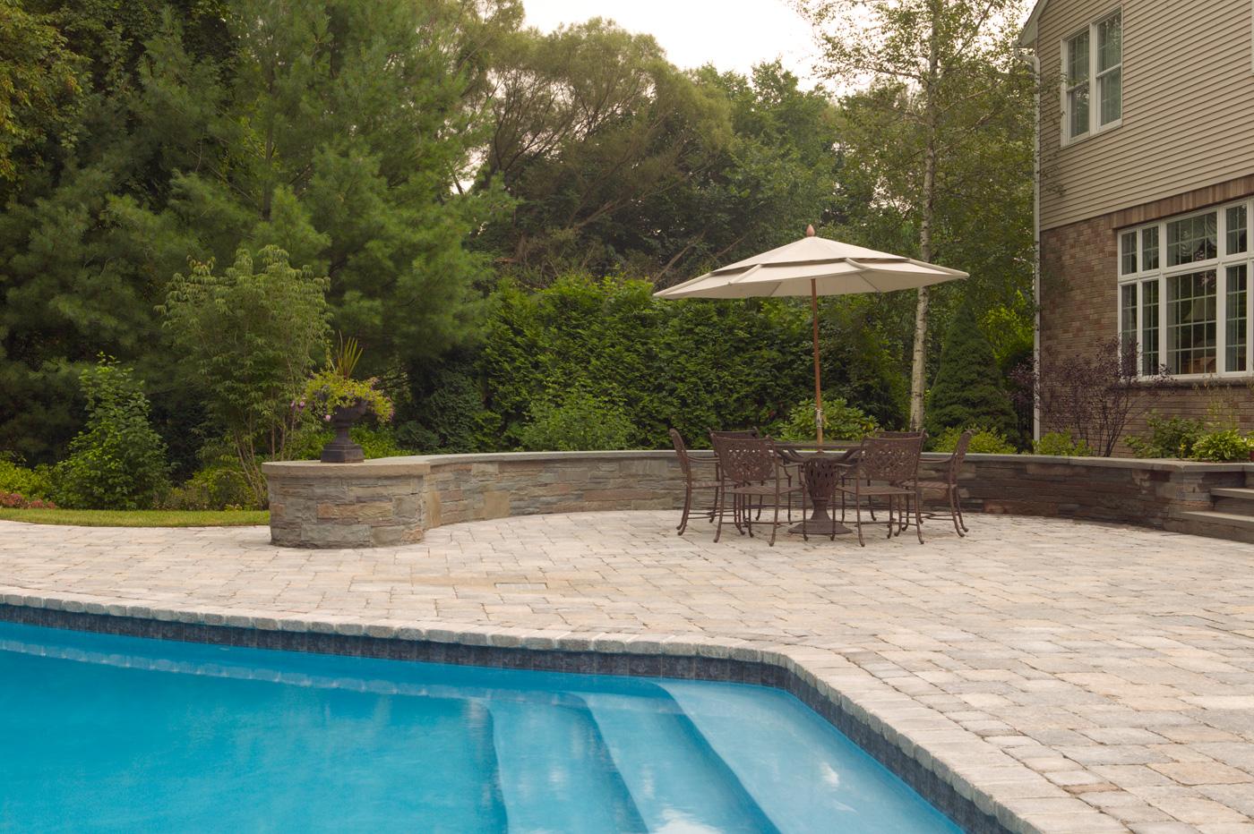 Paver Patio by Cording Landscape Design