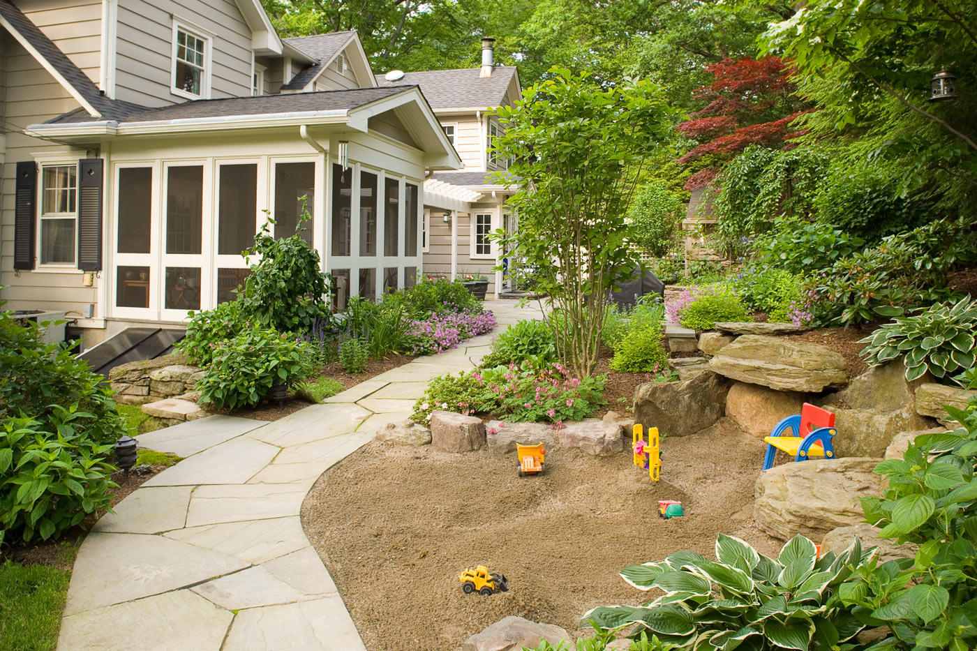 Kids Play Areas - New Jersey Landscaping