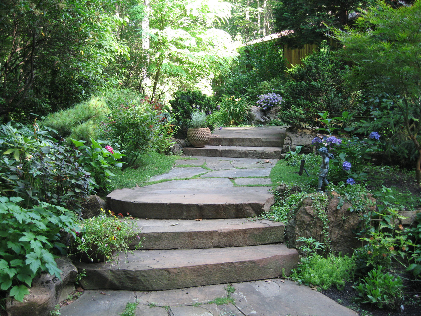 Garden Path by Cording Landscape Design