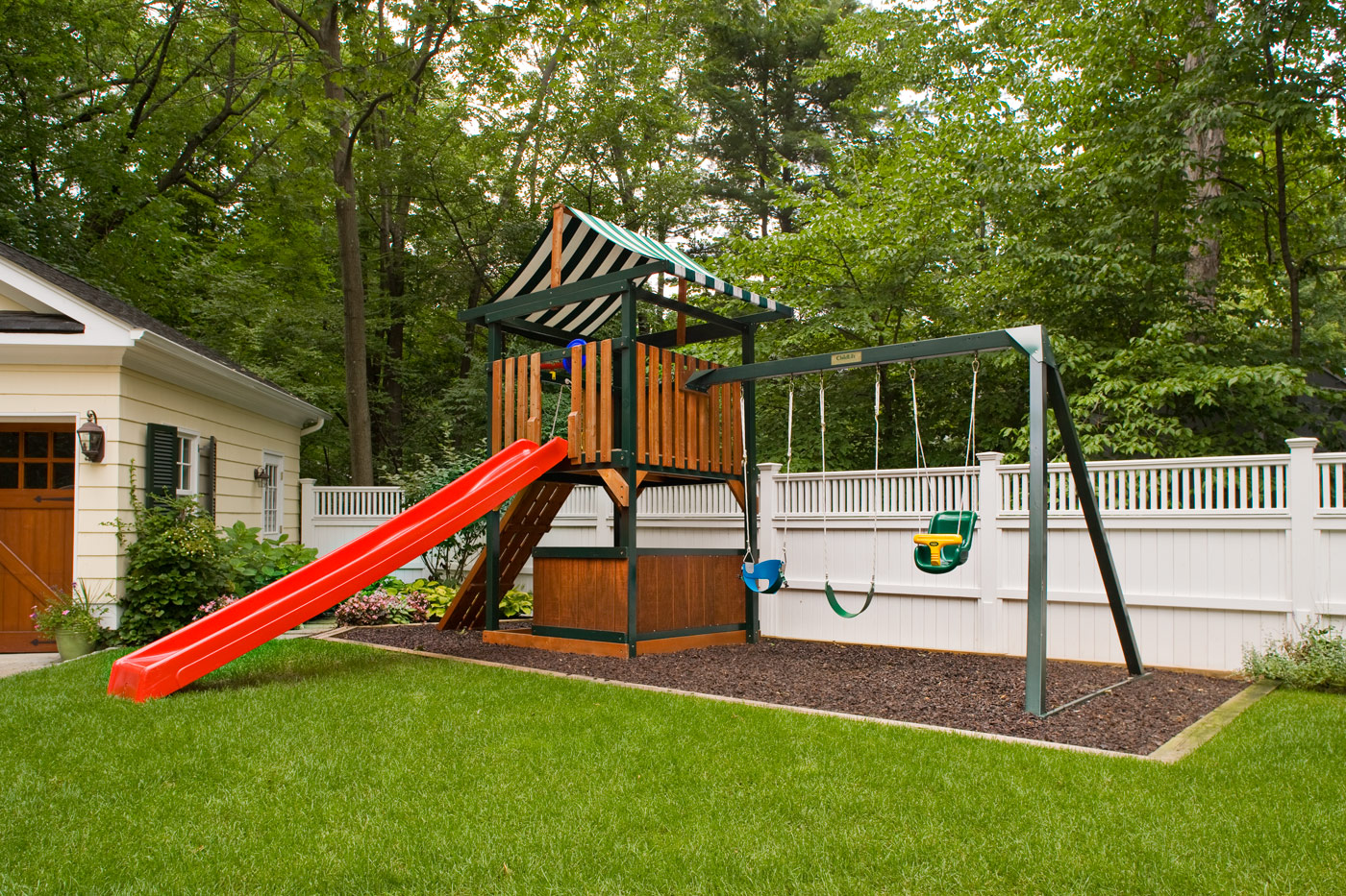 Kid's Play Area by Cording Landscape Design