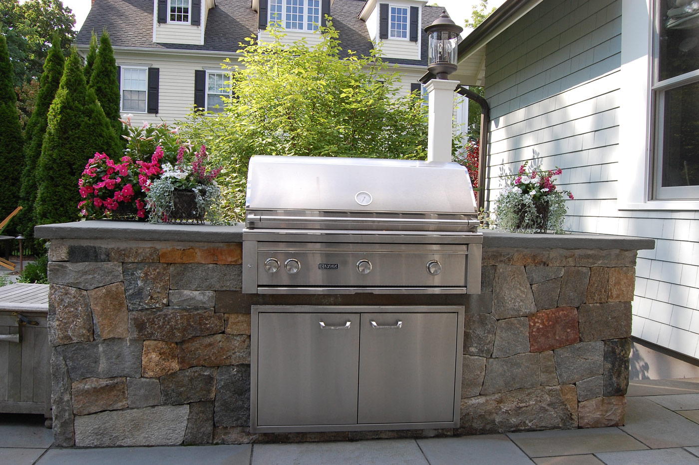 Outdoor Kitchen by Cording Landscape Design