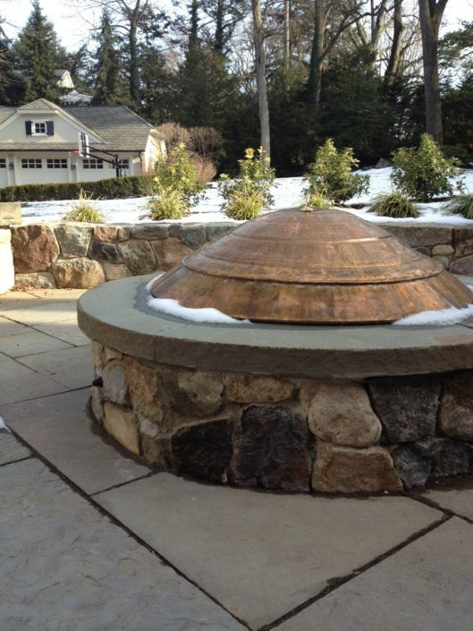 Patio Firepit by Cording Landscape Design
