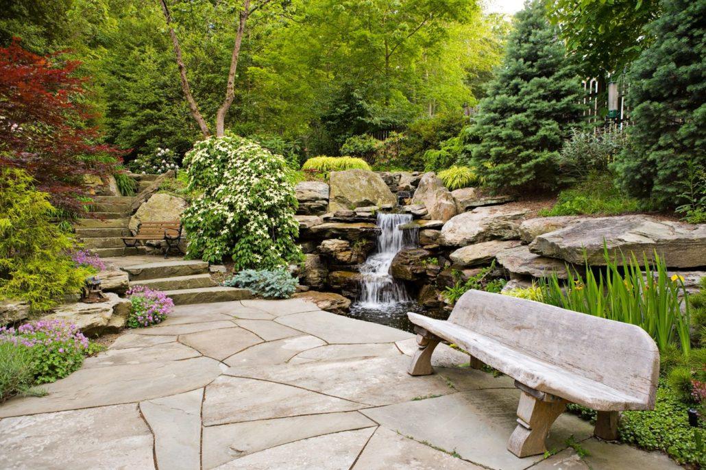 Landscaping Natural Stone : Natural stone patios cording landscape design