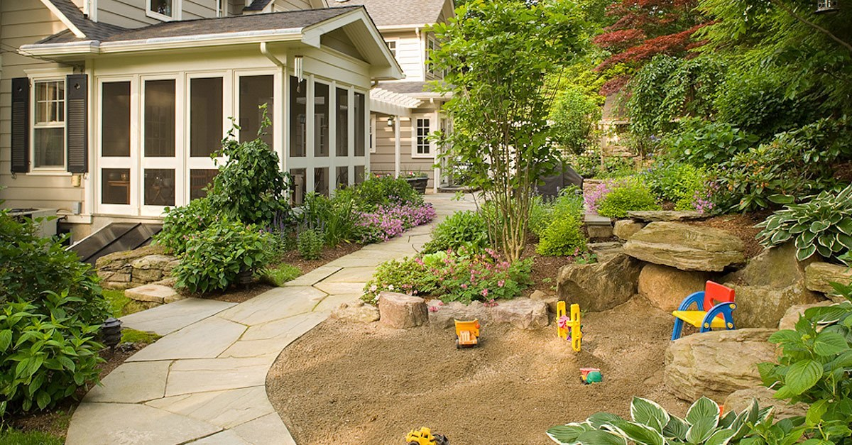 Beautiful Landscaping in Summit, New Jersey, by Cording Landscape Design