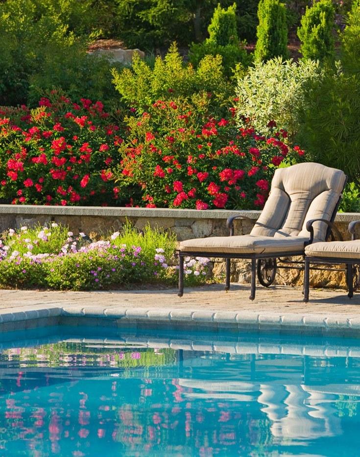 formal swimming pools