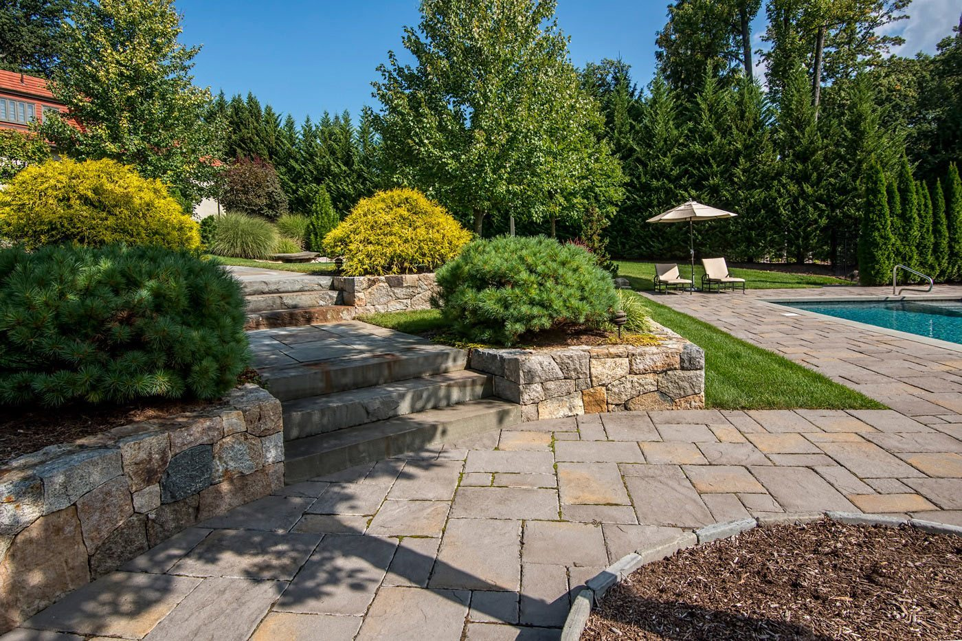 Landscaping In Short Hills Nj By Cording Landscape Design Cording Landscape Design