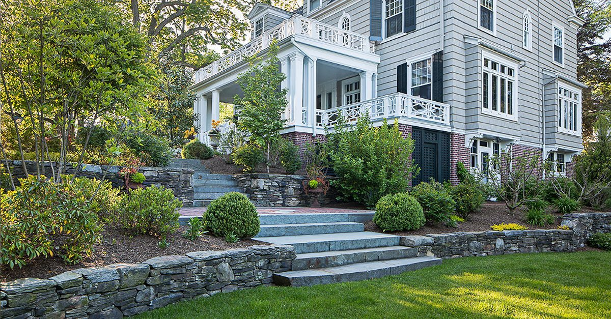 Beautiful Landscaping in Glen Ridge, New Jersey, by Cording Landscape Design