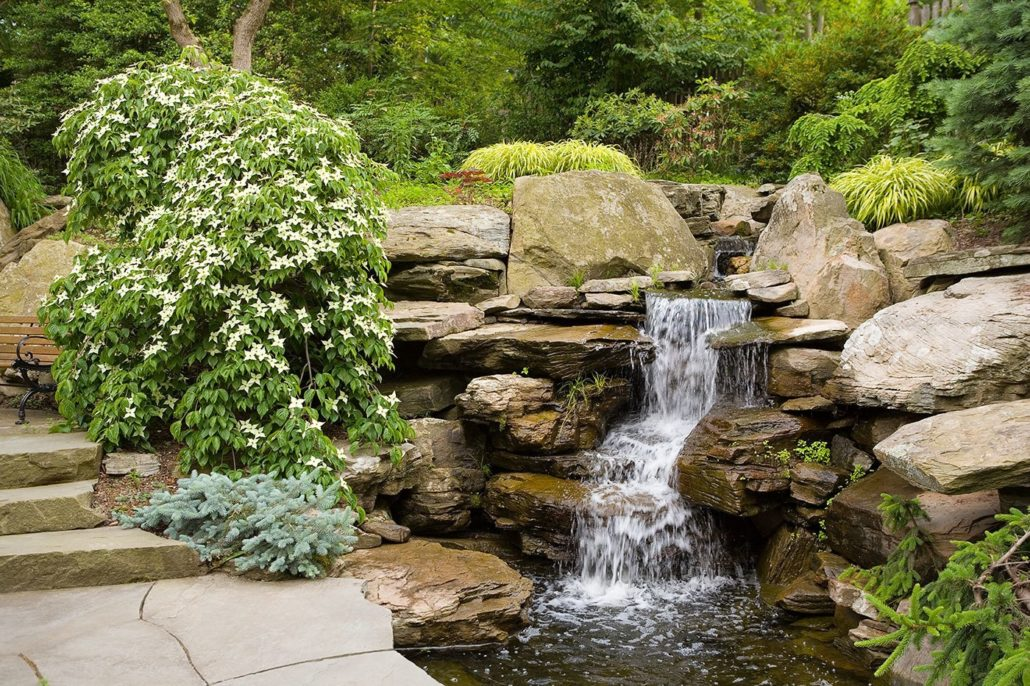Beautiful ideas the magical nature of water cording for Waterfall features for ponds