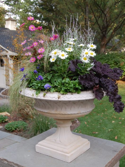Cording Landscape Design - Container Gardens for Fall