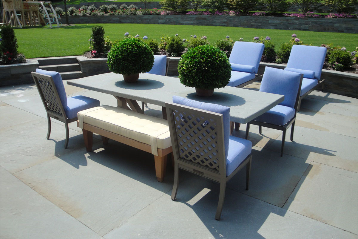 Beautiful Ideas: Using Natural Stone for your Patio ... on Square Patio Ideas id=80723