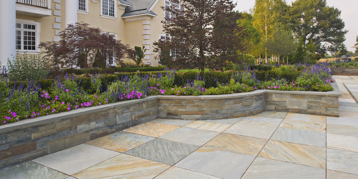 Beautiful Ideas: Using Natural Stone for your Patio ... on Patio Surfaces Ideas id=23429